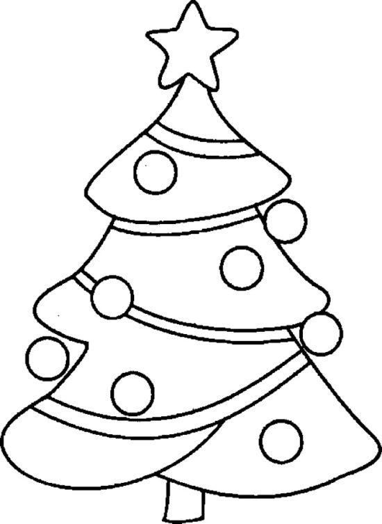 Tampon en bois Sapin de Noël