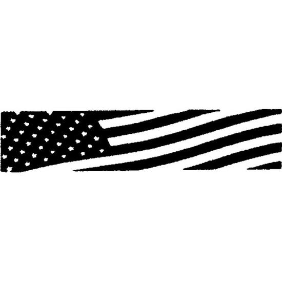 Tampon en bois Drapeau Américain