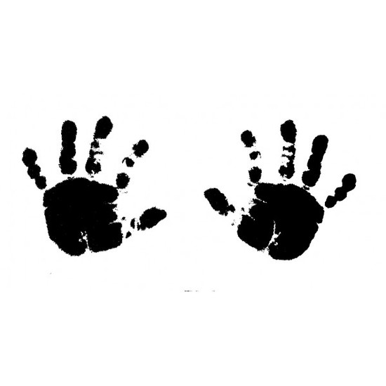 tampon Empreintes de mains