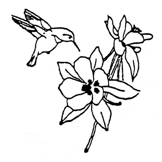 tampon Fleur n°1