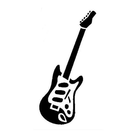 tampon Guitare électrique