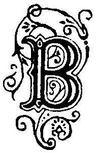 tampon INITIALE DECOREE B