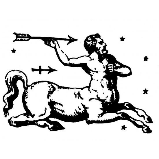 tampon Signe du zodiaque sagittaire
