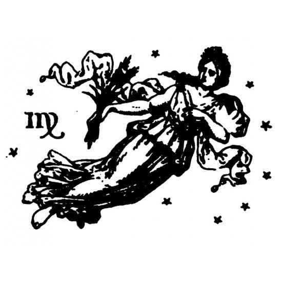 tampon Signe du zodiaque vierge