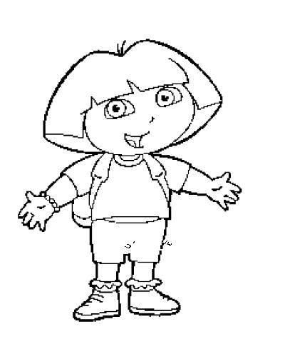 Tampon tatouage éphémère Dora l'exploratrice