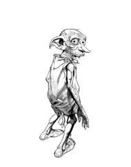 Tampon tatouage éphémère Dobby
